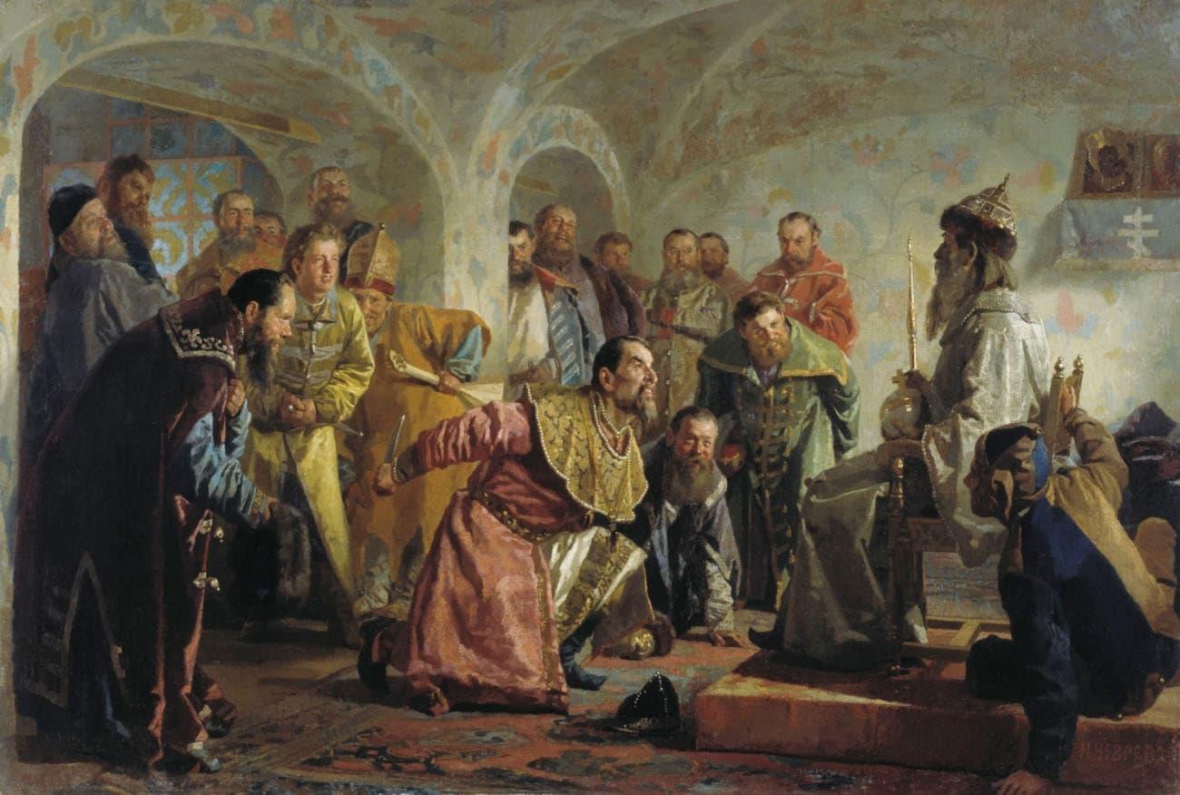 Н.В. Неврев — «Опричники»