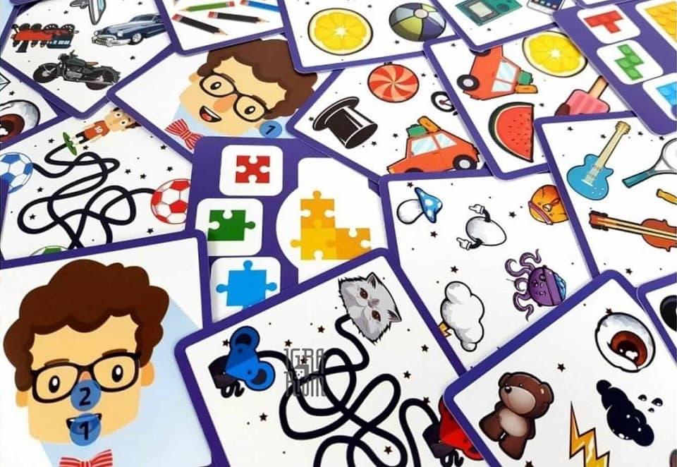 Кортекс - настольная игра для обучения