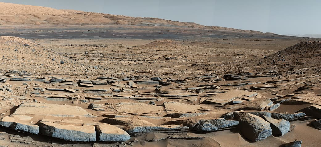 Фото с поверхности Марса