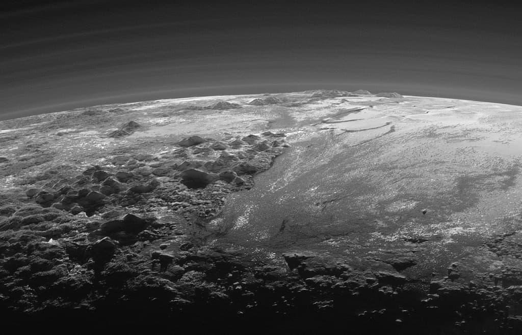 Фото поверхности Плутона