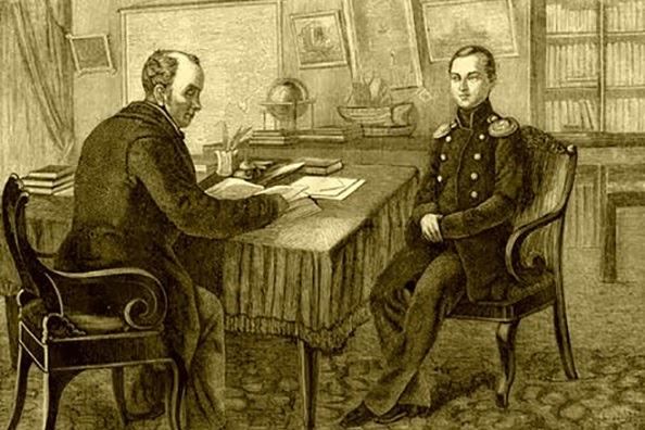 Василий Жуковский — наставник Александра II