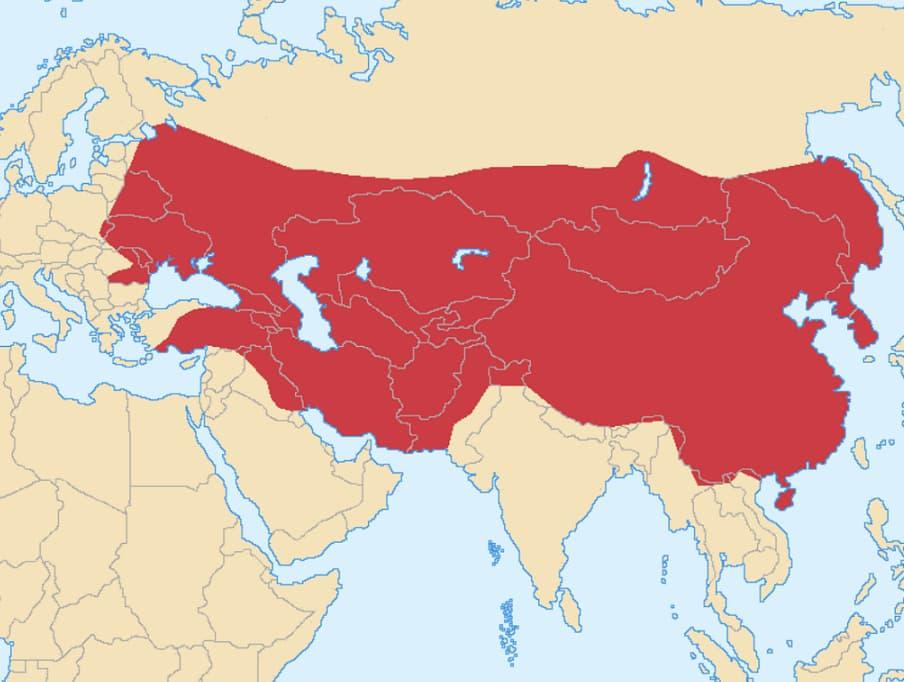 Завоевания монголов в XIII веке