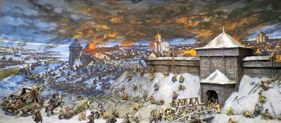 Начало монголо-татарского ига