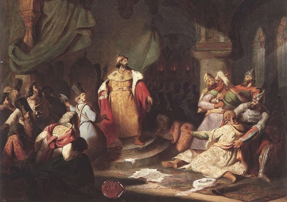 Свержение монголо-татарского ига