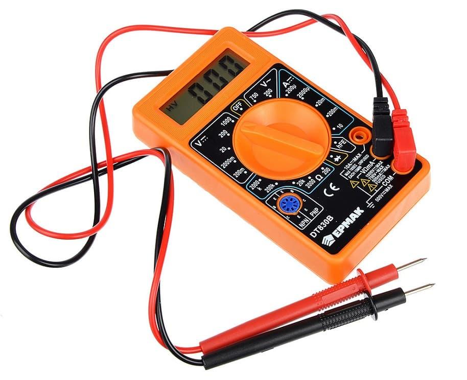 Цифровой мультиметр для измерения силы тока