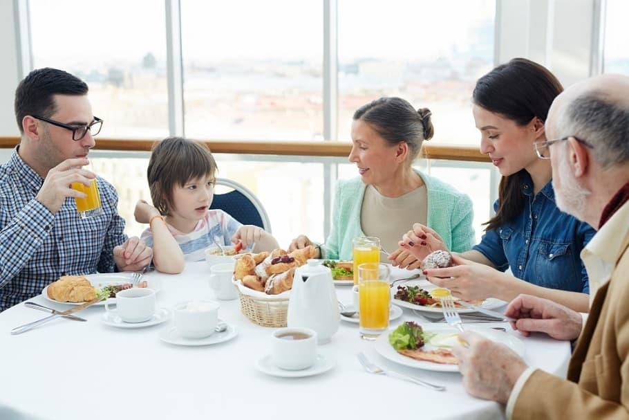 Удобное время и место для разговора с родителями