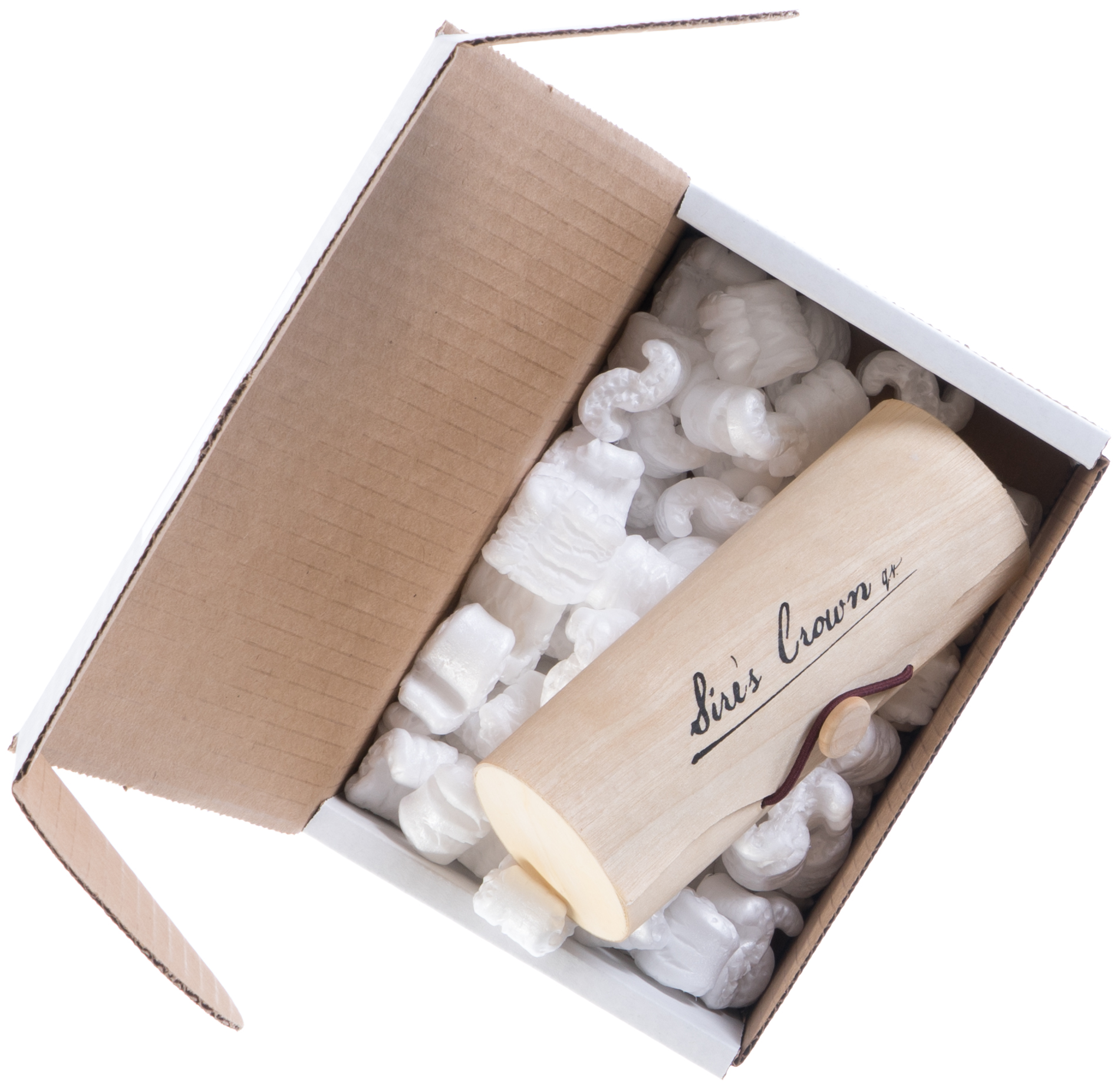 Shipping box of Sires Eyewear