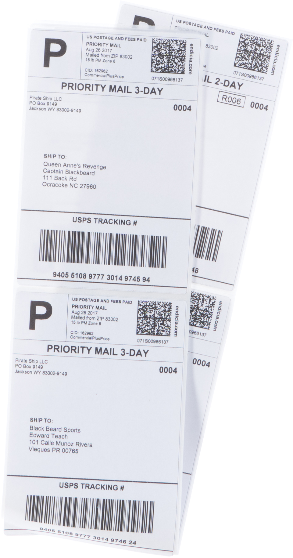 Priority Mail Cubic shipping labels