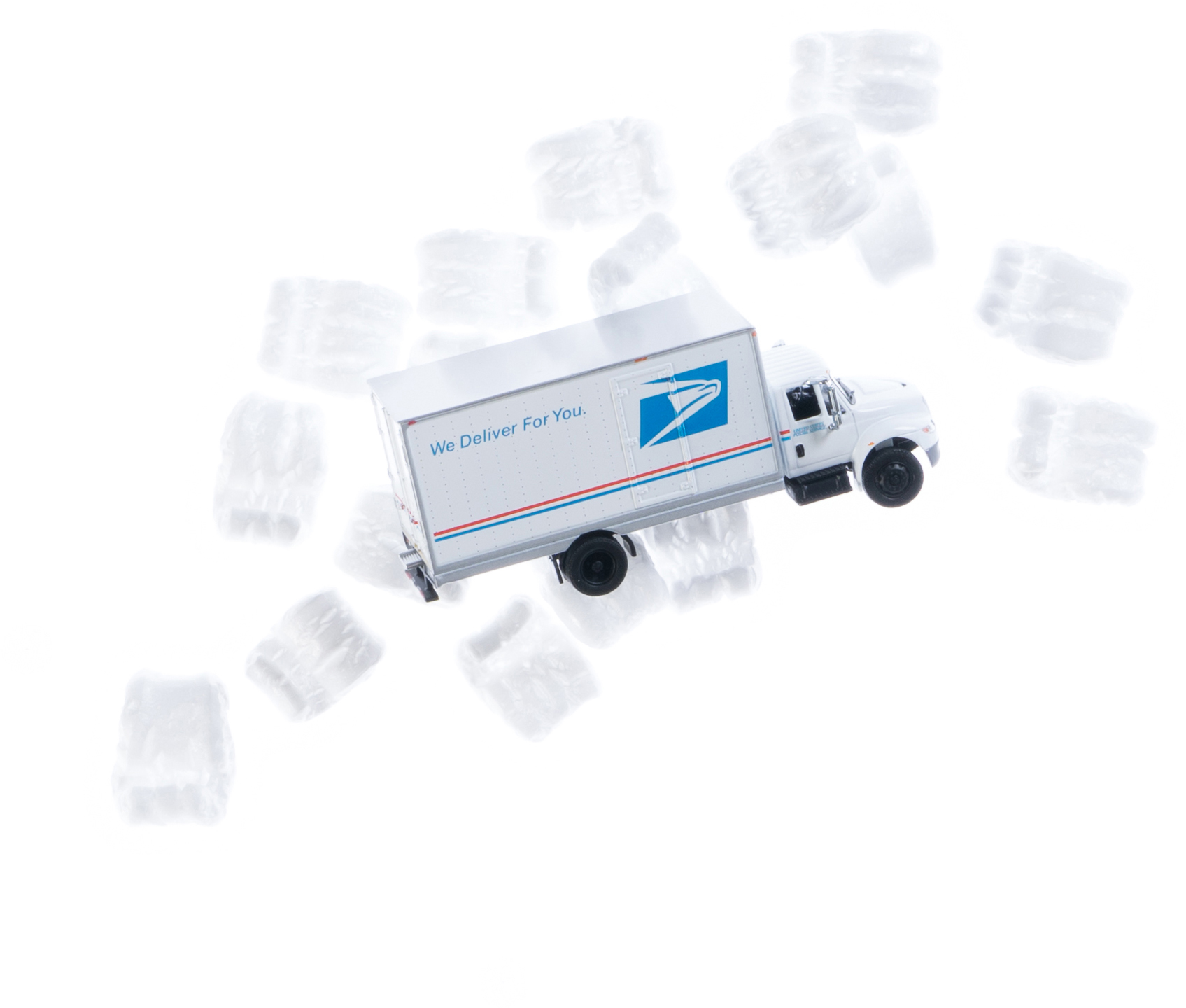 USPS shipping truck