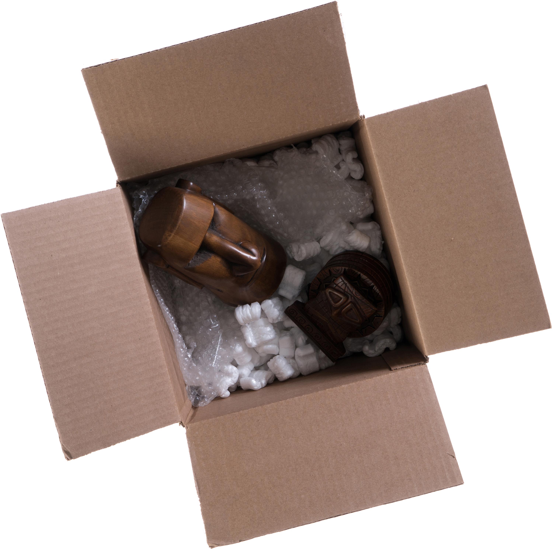 Big cardboard box