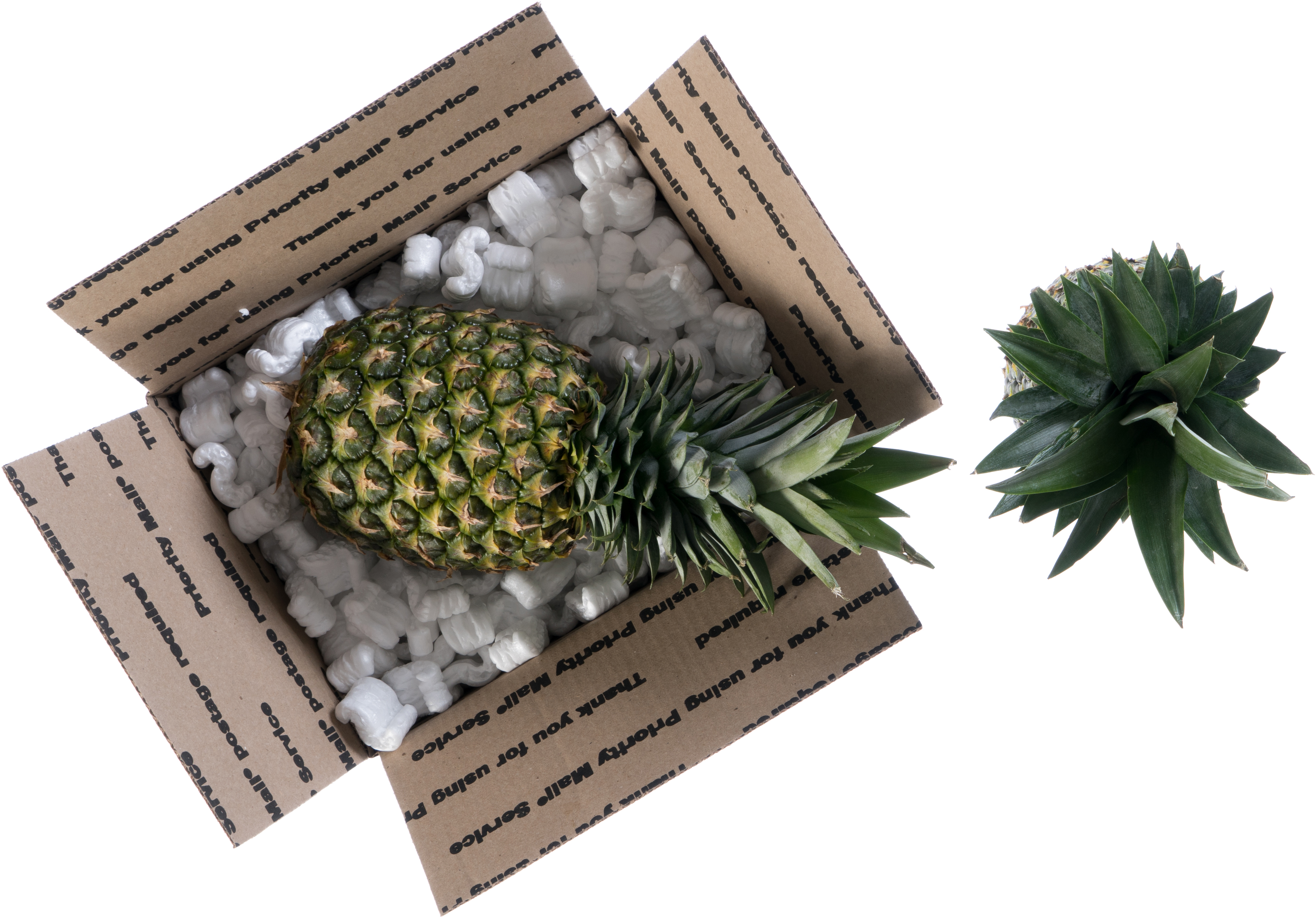 Pineapples in a Regional Rate box
