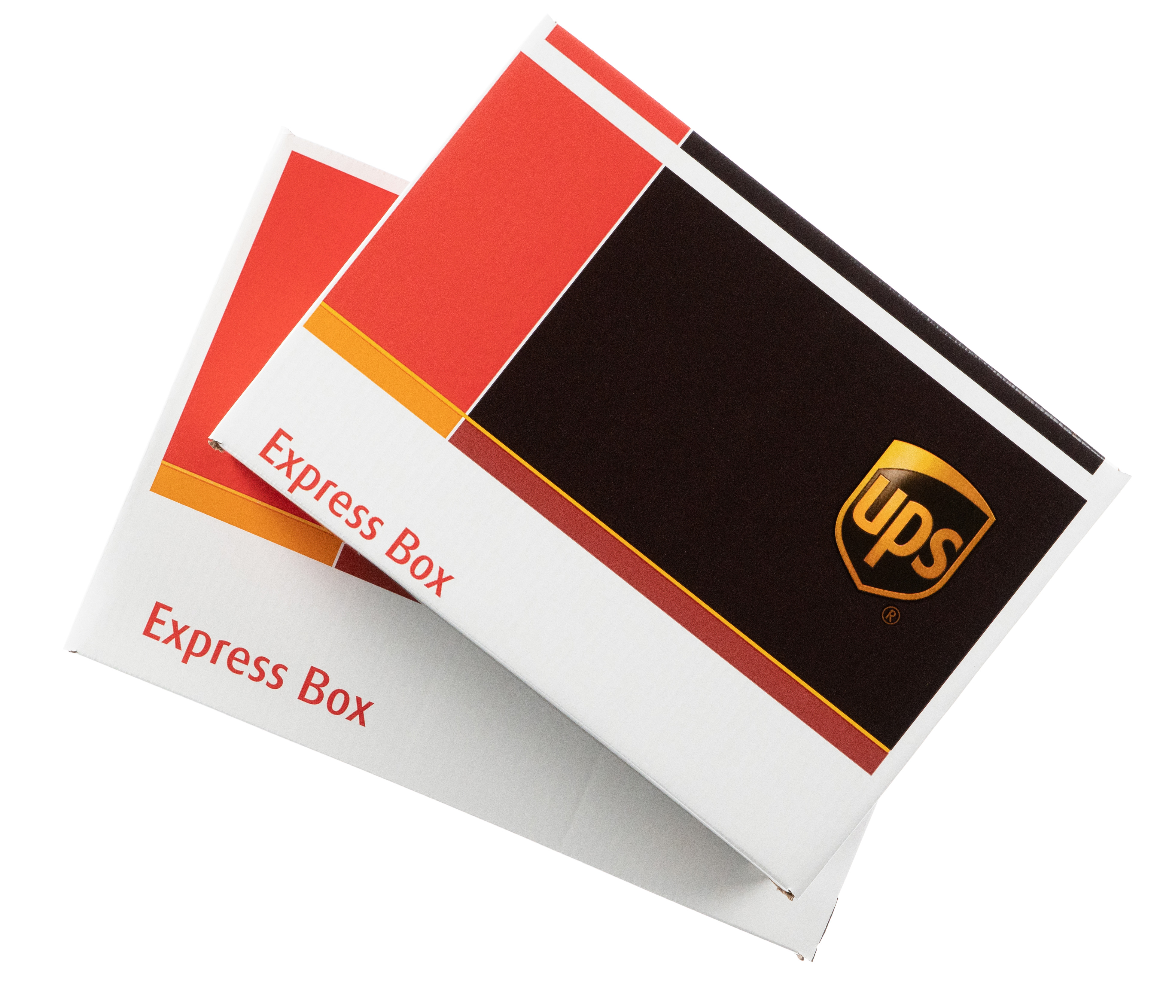 UPS boxes for Express shipping rates