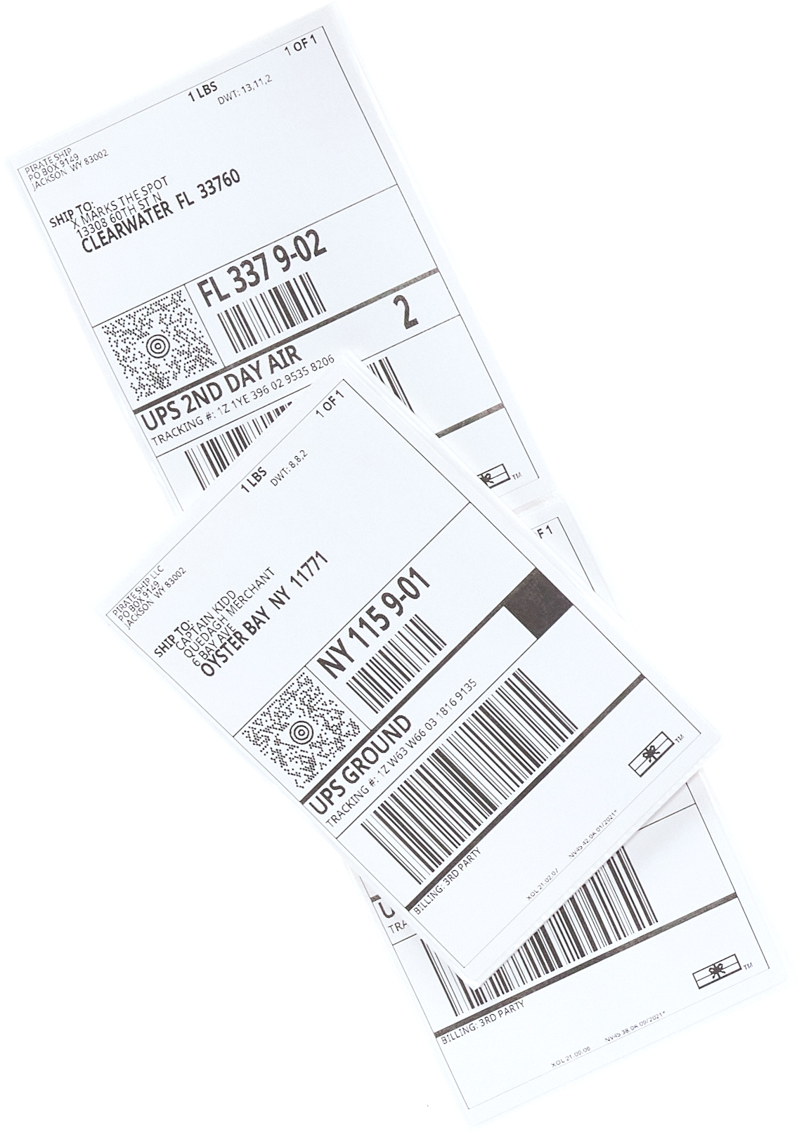 Discounted UPS Ground labels
