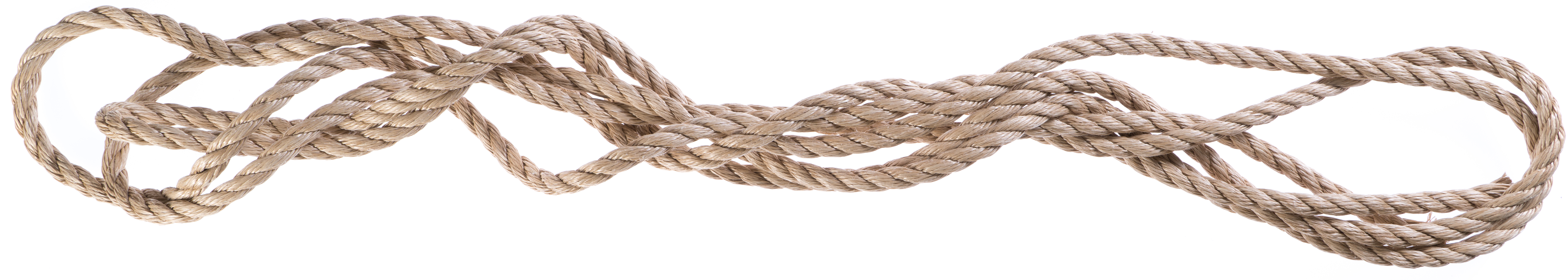 A coil of rope
