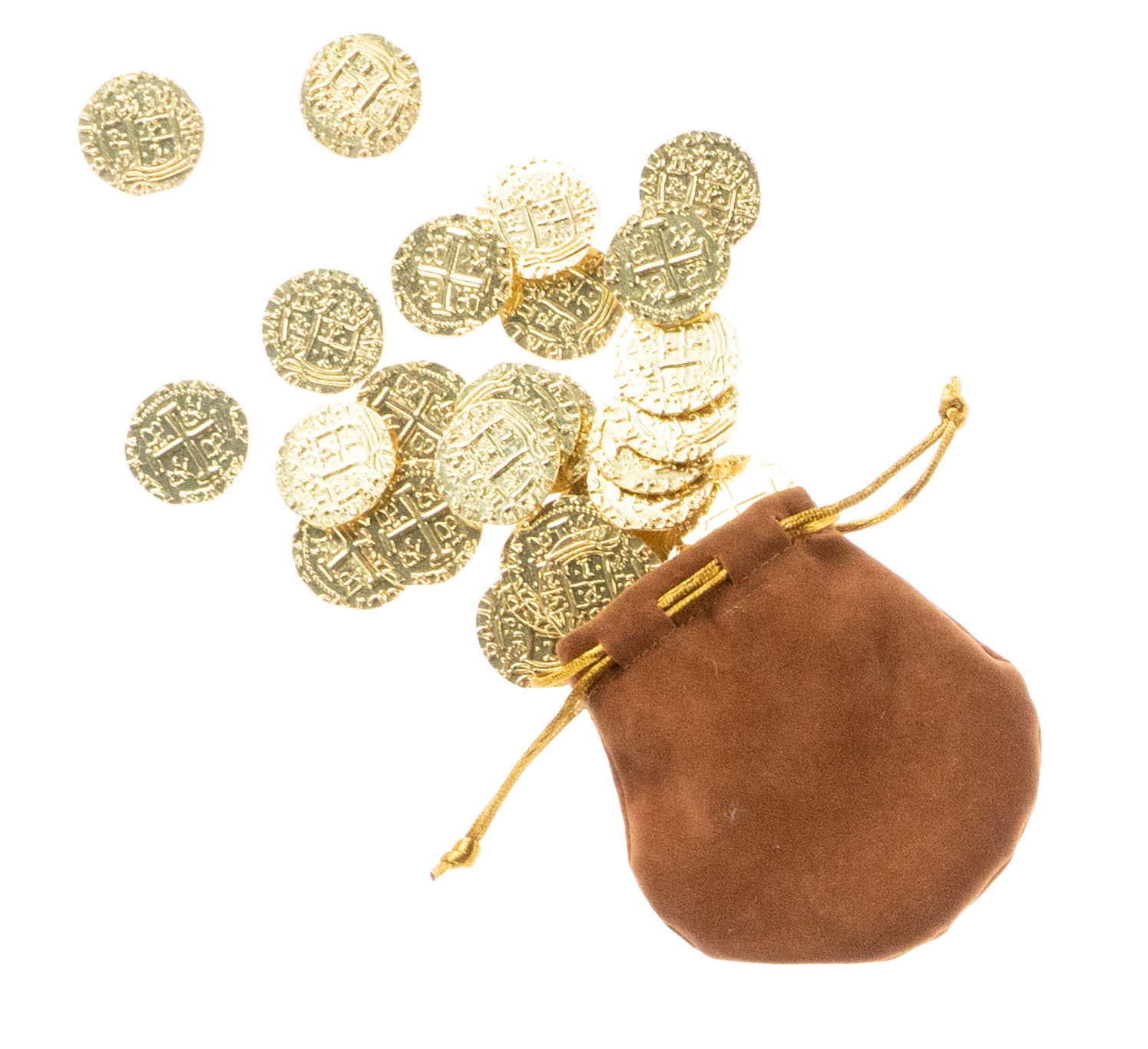 A pouch of gold coins