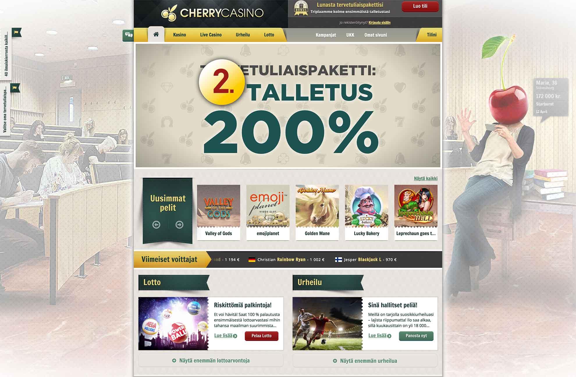 Cherry Casino Gutscheincode 2020