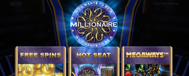 Haluatko miljonääriksi -kolikkopelissä on 117 649 voittotapaa!
