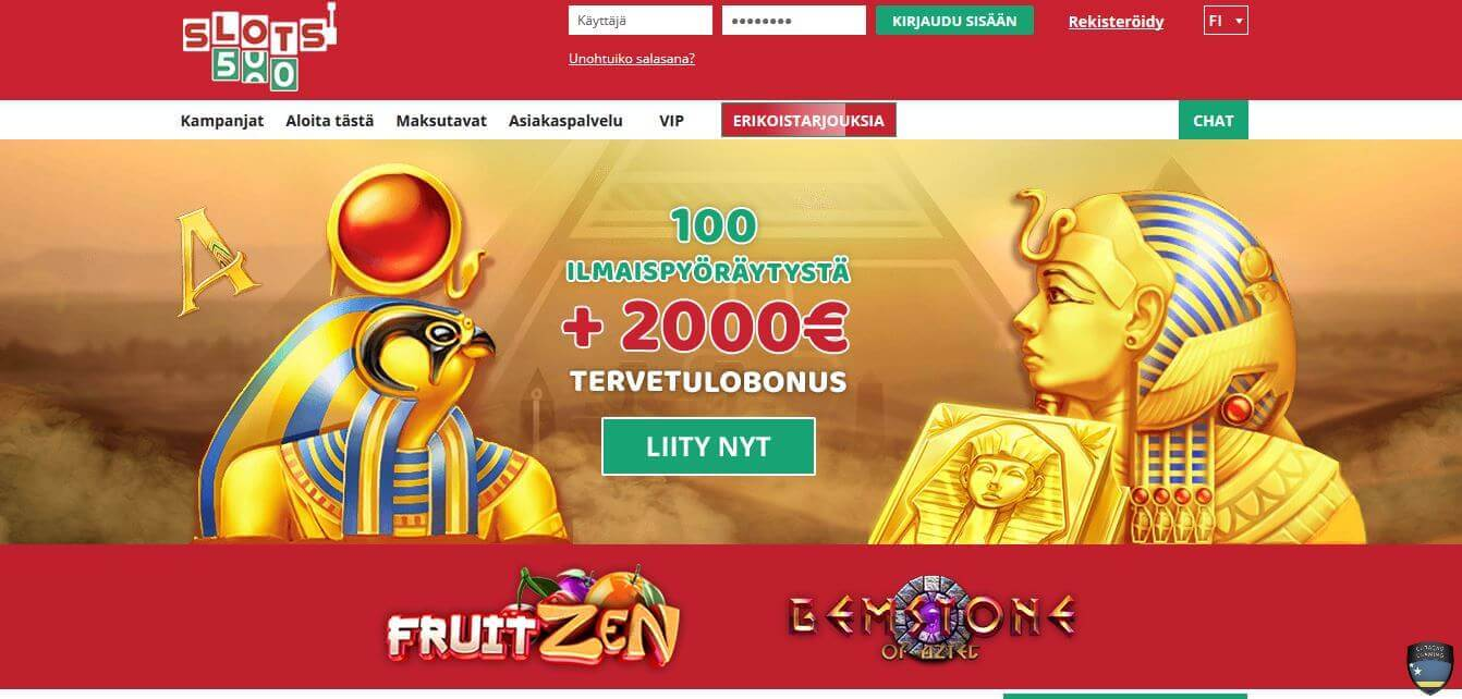 Slots 500 Casino