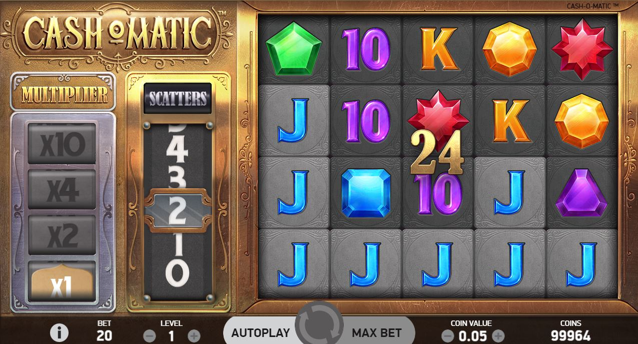 Cash-O-Matic Slot pelikuvaa