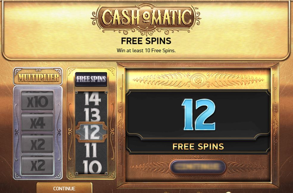 Cash-O-Matic ilmaiskierrokset