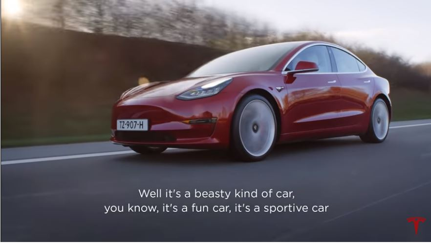 Millainen on Tesla Model 3?