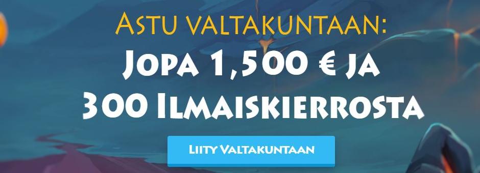 Parhaat kasinobonukset suomalaisille – syyskuu 2019