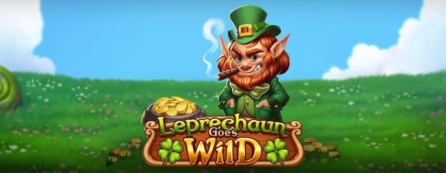 Haltija tarjoilee onnea pelaajille uudessa Play'N Go:n Leprechaun Goes Wild -pelissä!