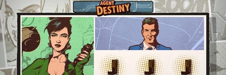Agent Destiny kolikkopeli - pelaa ilmaiskierrokset, RTP 96,26