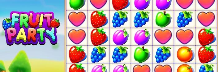 Fruit Party -kolikkopeli, Pragmatic Play - RTP 96.5%, pelaa!