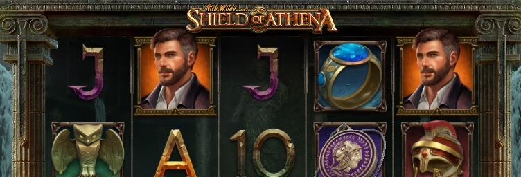 Rich Wilde and the Shield of Athena -kolikkopeli, RTP 96.25%