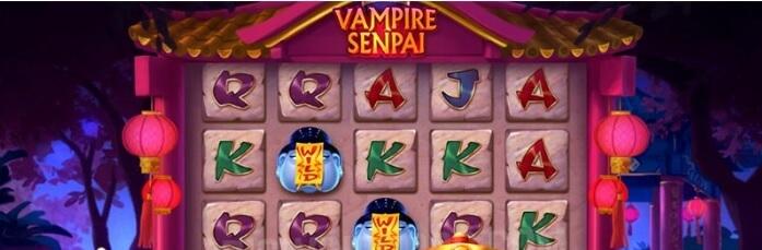 Vampire Senpai -kolikkopeli - Pelaa bonuspeli, RTP 96.19 %