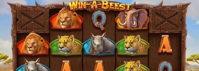 Win-A-Beest-kolikkopeli - Löydä gnuut sekä ilmaiskierrokset!