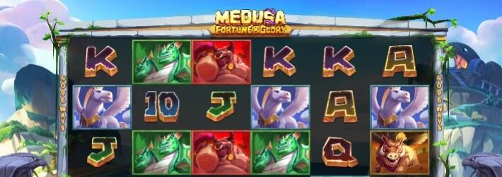 Medusa: Fortune & Glory - RTP 96,62% hyvällä voittotiheydellä