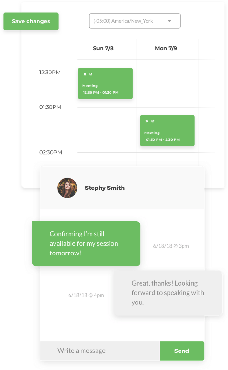 User Interviews product view  of our automation tools