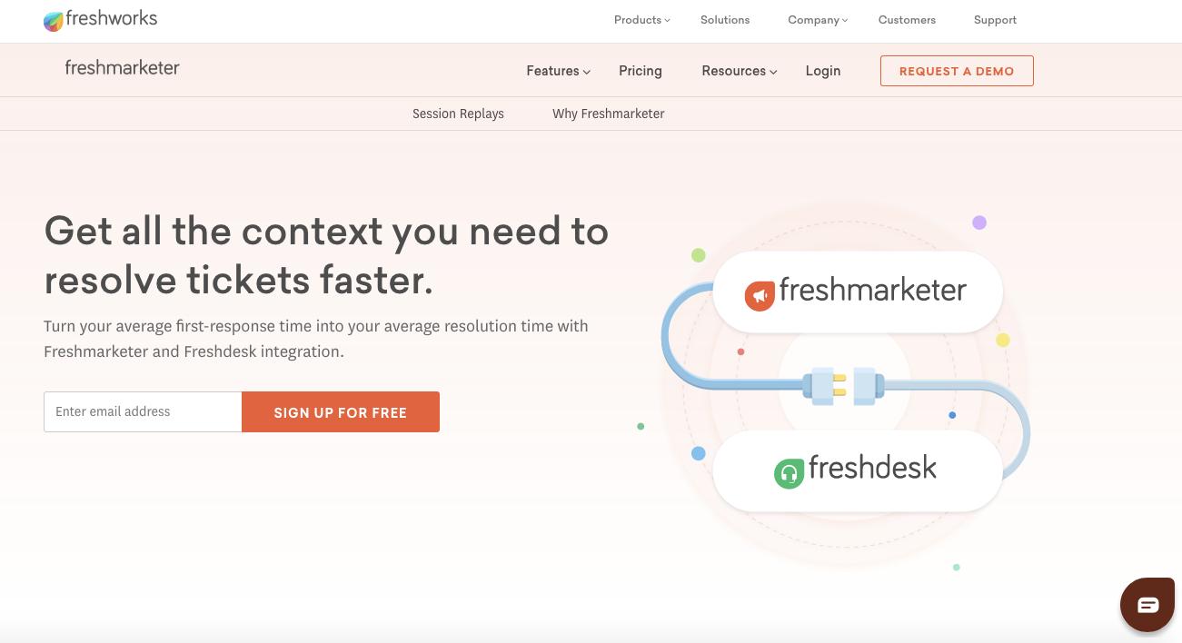 UserTesting Alternatives: Session Replay (by Freshdesk)