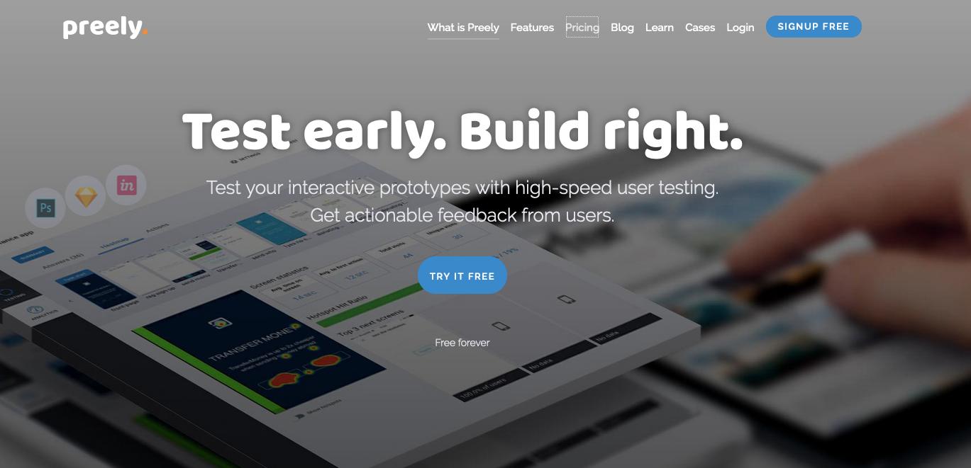 UserTesting Alternatives: Preely