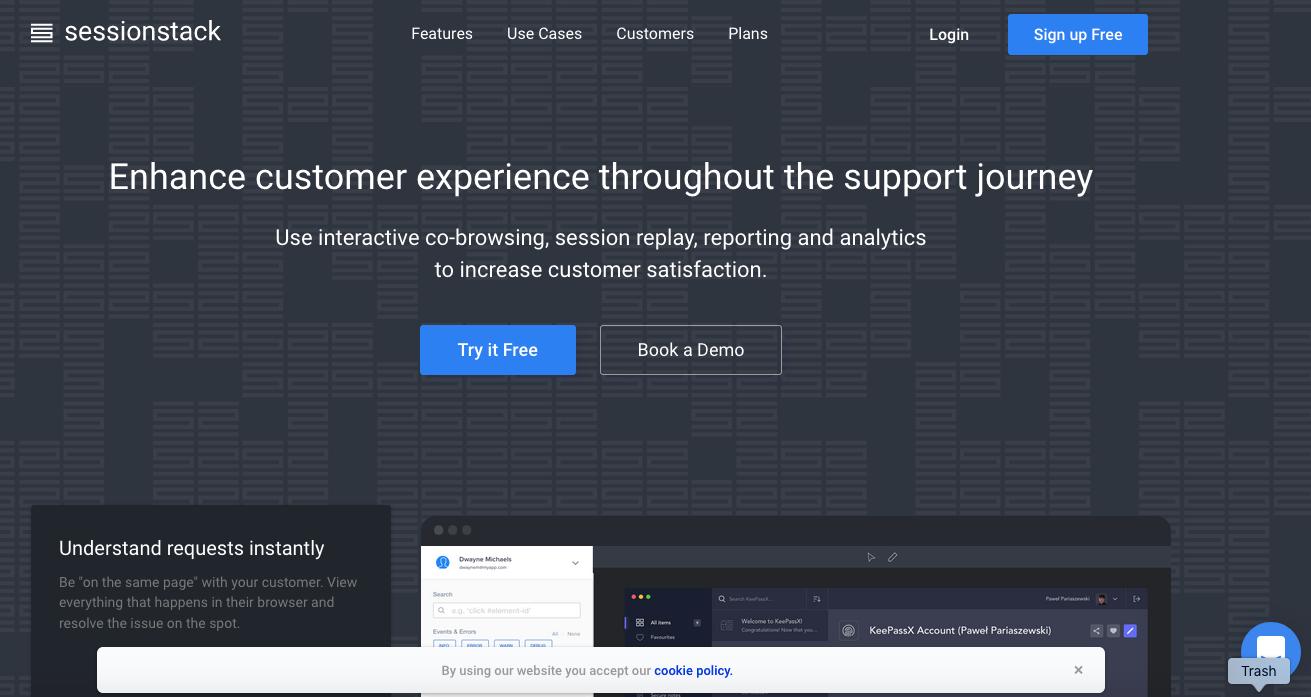 UserTesting Alternatives: SessionStack