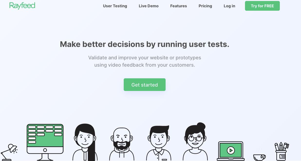 UserTesting Alternatives: Rayfeed