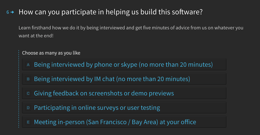How can you participate in helping us build this software?