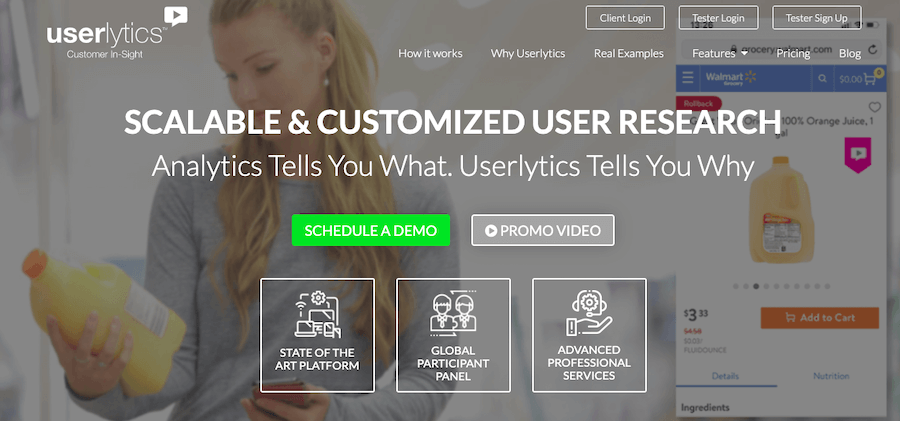 User Testing Tools: Userlytics