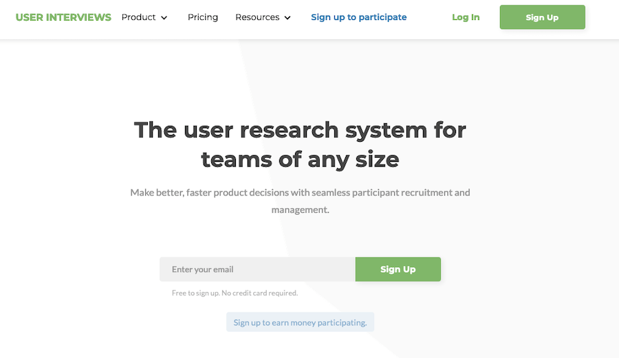 User Testing Tools: User Inverviews