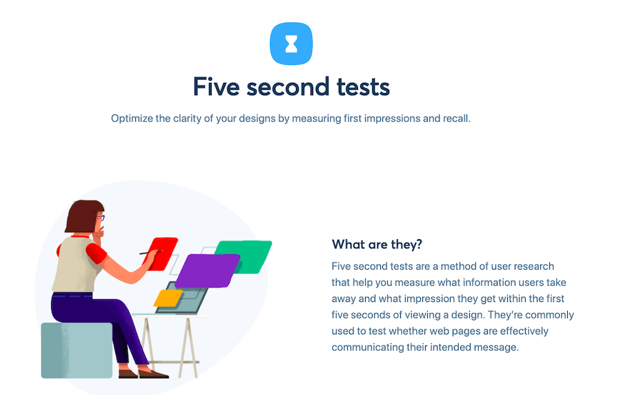 User Testing Tools: Five Second Test