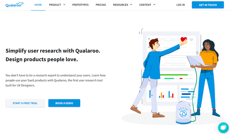 User Testing Tools: Qualaroo