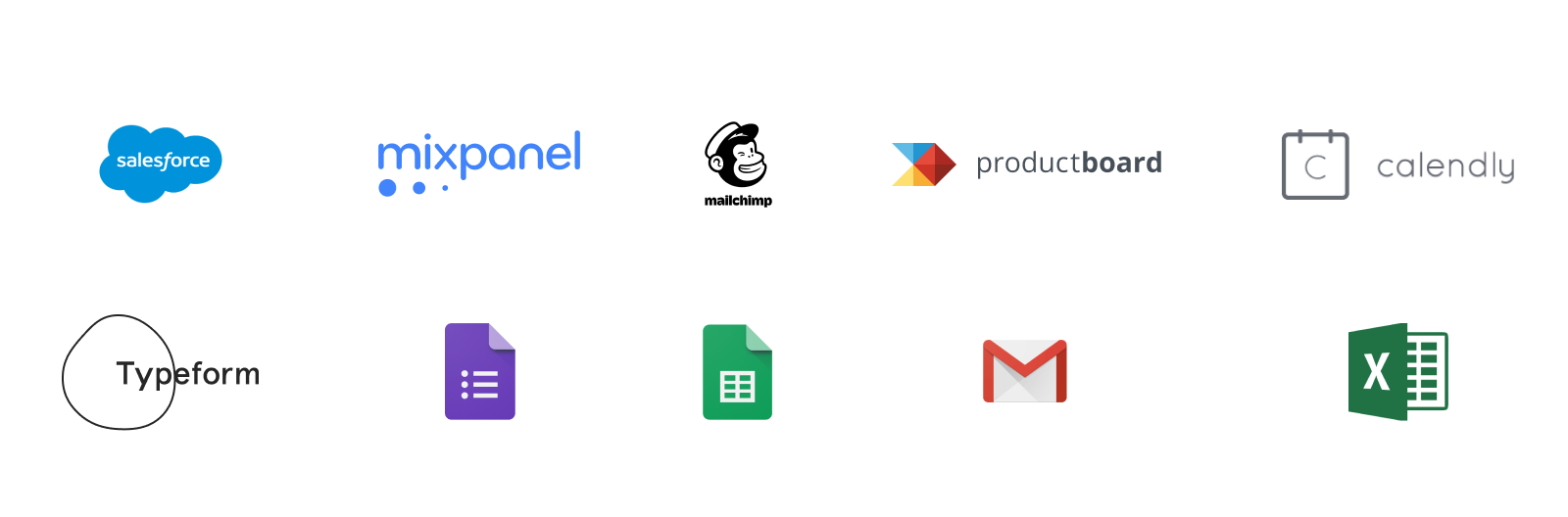 It takes a large suite of tools to recruit users for user research unless you're using a dedicated platform like User Interviews.