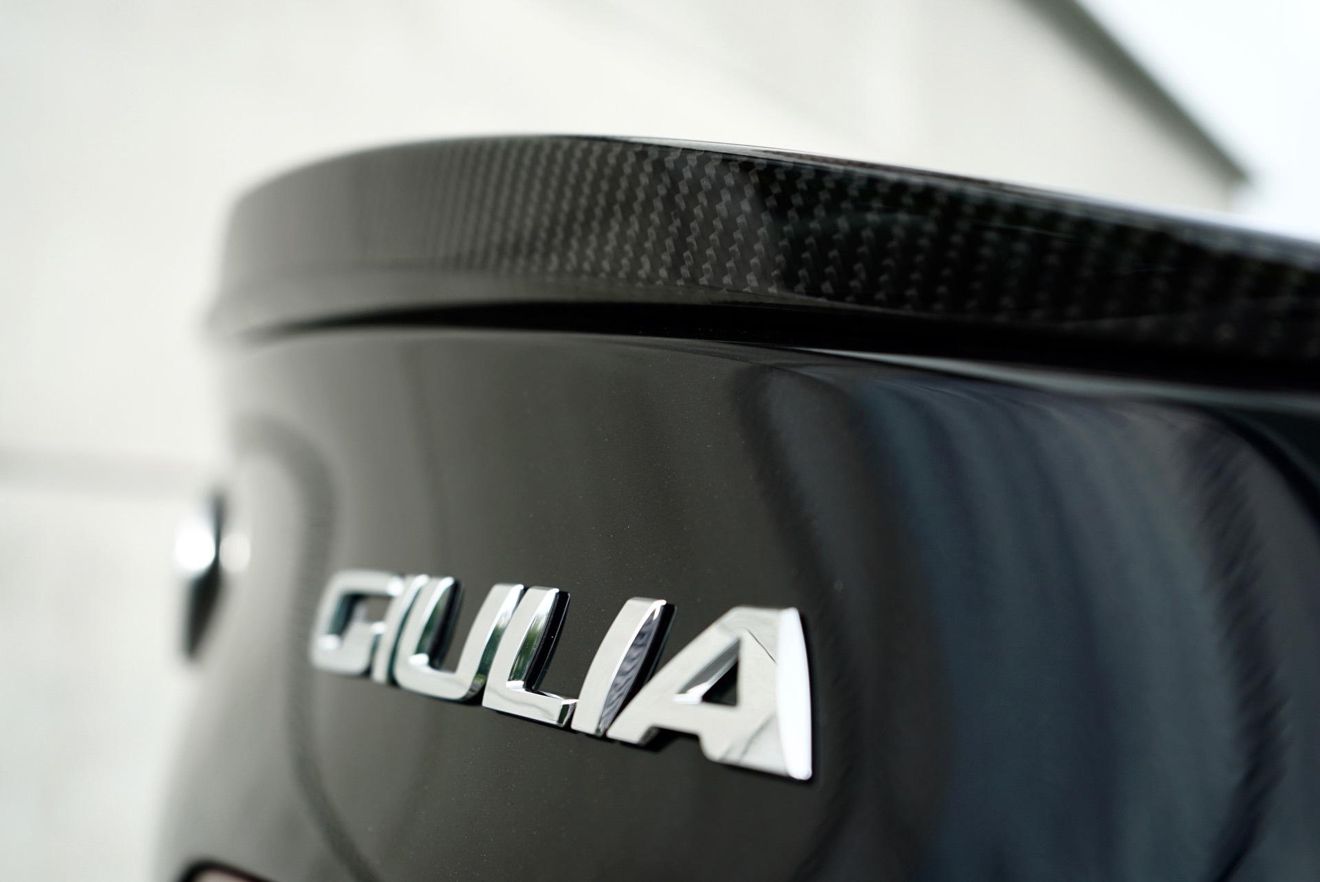 ALFA GIULIA 2.9 V6 QUADRIFOGLIO