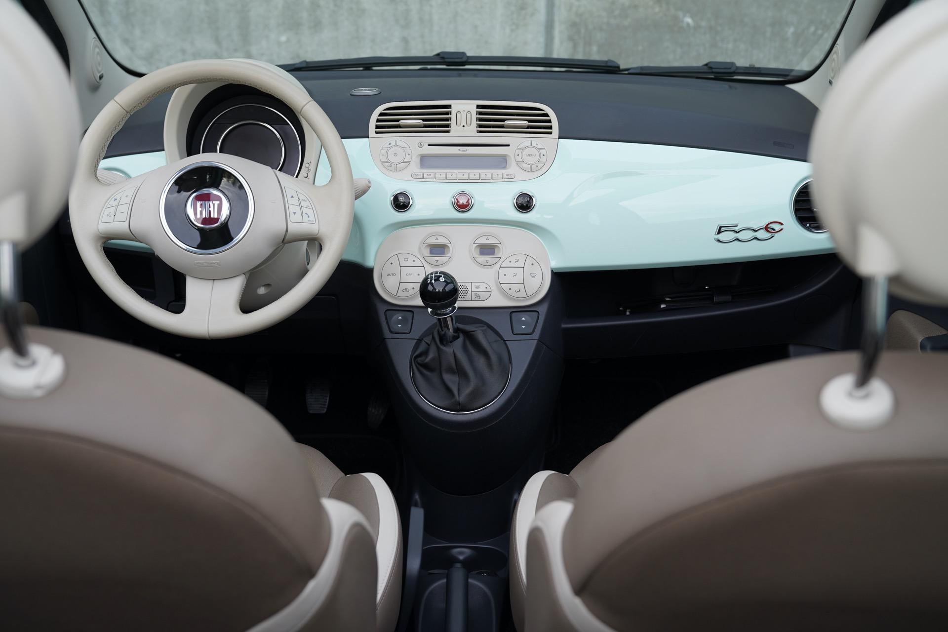 FIAT 500 CABRIO 1.2 PISTACCHIO