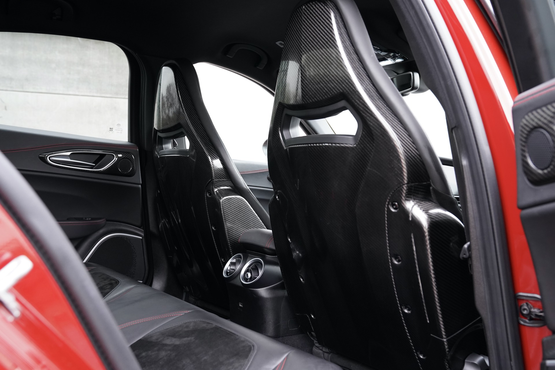 ALFA ROMEO GIULIA Q 2.9 V6 510PK ROSSO COMPETIZIONE