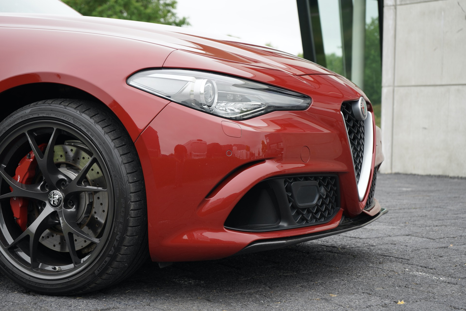 ALFA ROMEO GIULIA Q 2.9 V6 BI-TURBO 510PK ROSSO COMPETIZIONE