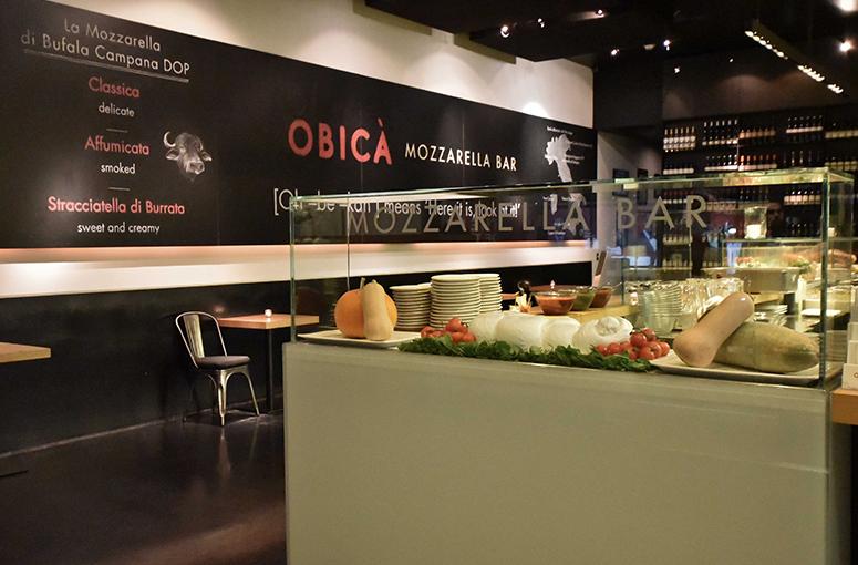 Obica Mozzarella Bar Italian Restaurant And Pizzeria In