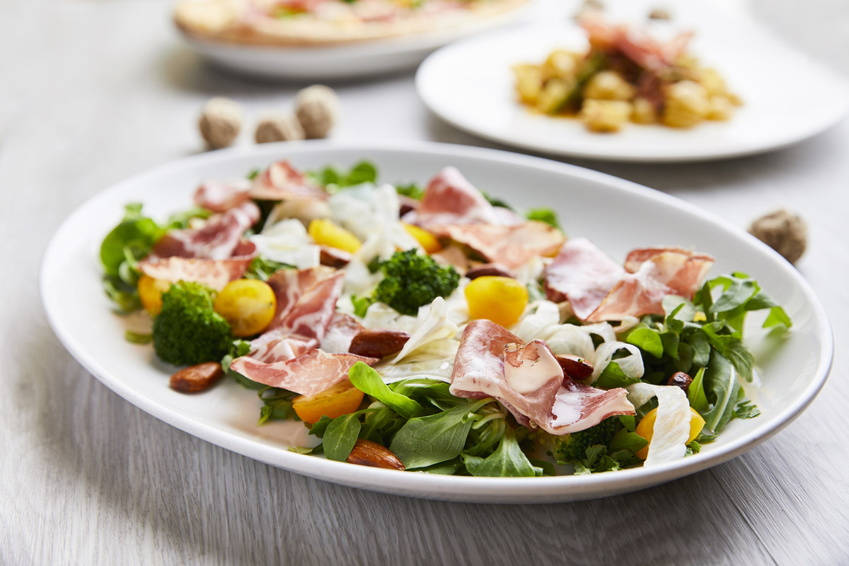 Salad with Capocollo di Martina Franca